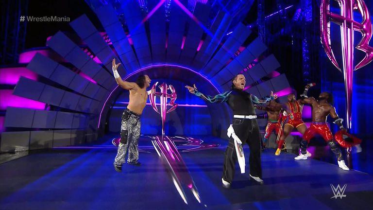 Team Xtreme won the Raw tag team titles at last year's WrestleMania