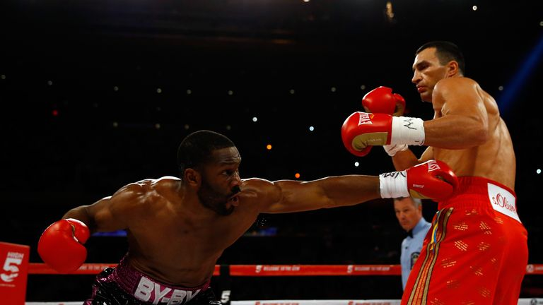 Jennings took Wladimir Klitschko the distance in 2015