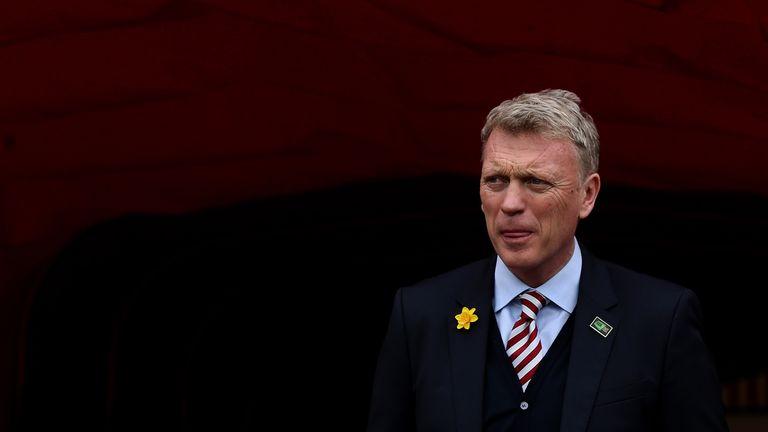 David Moyes remains upbeat despite seeing his Sunderland team lose 1-0 to Watford