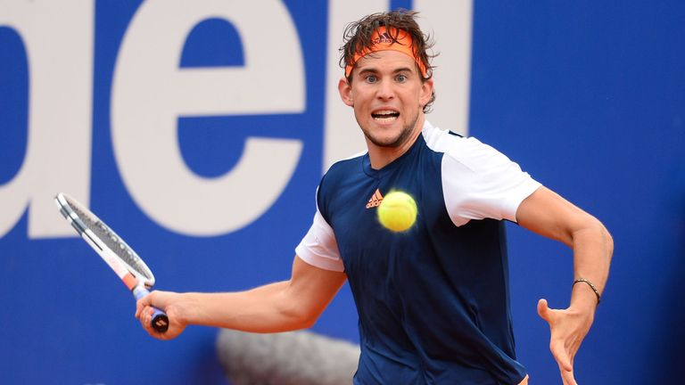 Austrian Dominic Thiem lost to Rafael Nadal at the Barcelona and Madrid final