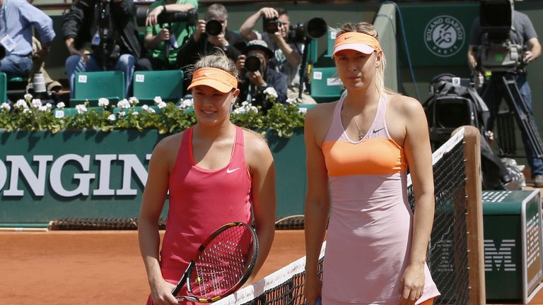 Eugenie Bouchard Slams Wta Over Cheater Maria Sharapova Tennis