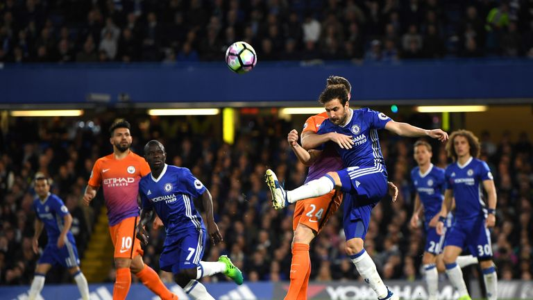 Fabregas played as Chelsea beat Manchester City