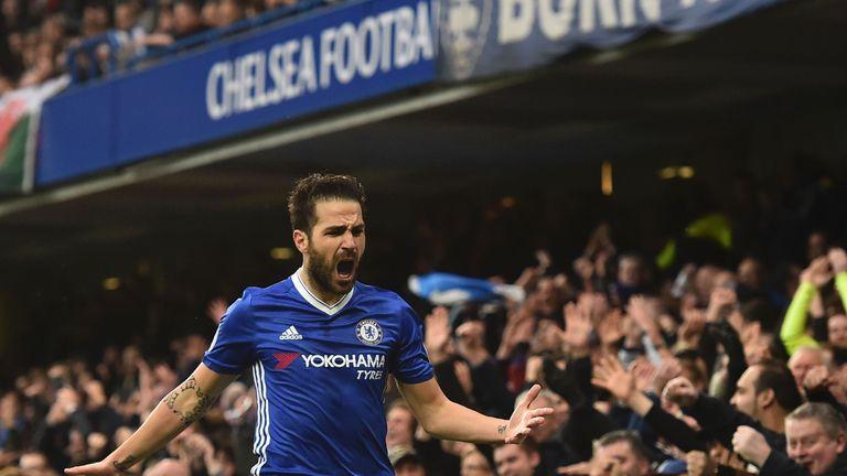 Cesc Fabregas has hailed Chelsea's character