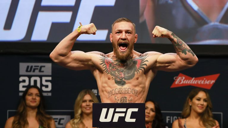 Conor McGregor was the first UFC fighter to hold two titles at different weights