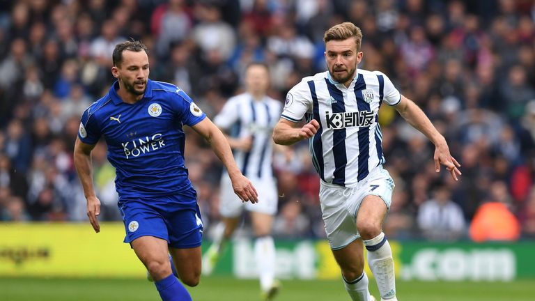 James Morrison (right) is out of the clash with Manchester City