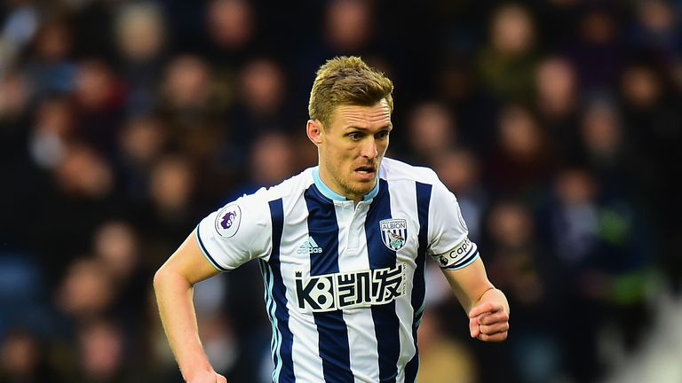 Darren Fletcher will leave West Brom for Stoke this summer, Sky sources say