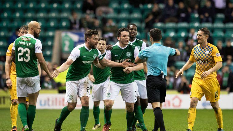 McGregor's red card against Morton has been overturned