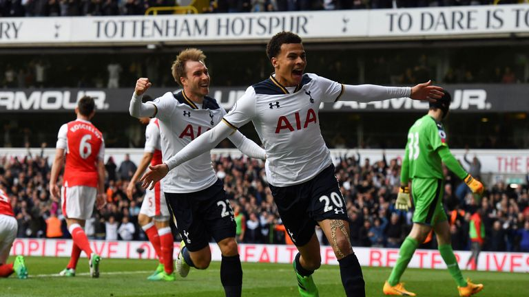 Dele Alli is targeting 20 Premier League goals
