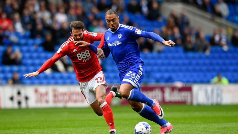 Denmark's Kenneth Zohore earned a new contract at Cardiff last season
