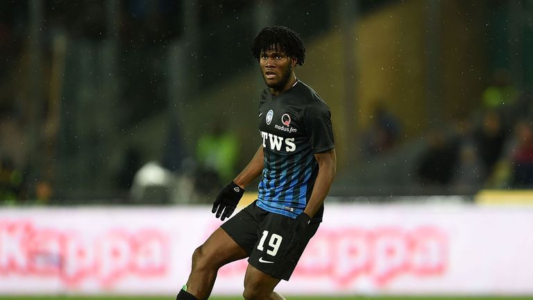 Midfielder Franck Kessie has signed for AC Mlilan from Atalanta