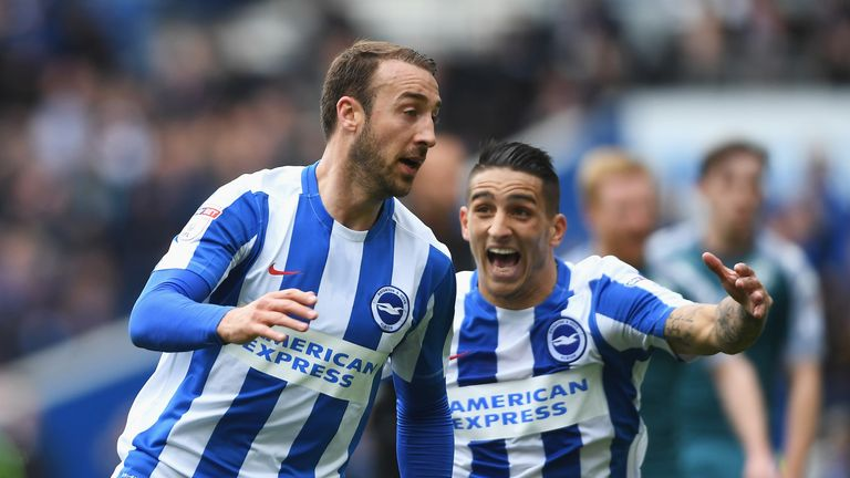 Brighton are preparing to renew their rivalry with Crystal Palace