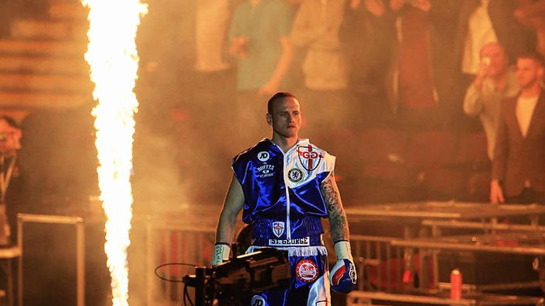 George Groves 'raised the bar' for the rest to box at Wembley