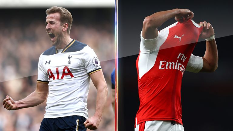 Tottenham are on course to finish above Arsenal this season