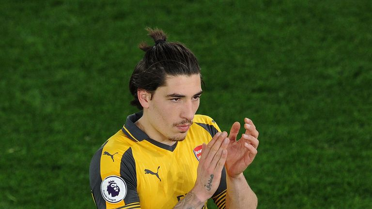 Hector Bellerin was booed by some Arsenal supporters following the defeat at Crystal Palace