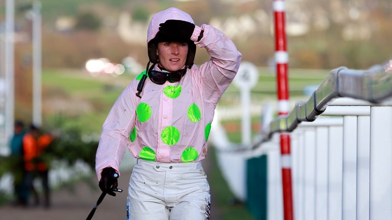 Katie Walsh: Taken to hospital after Aintree fall