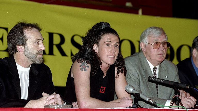Couch was the first female fighter to earn a boxing license in Britain