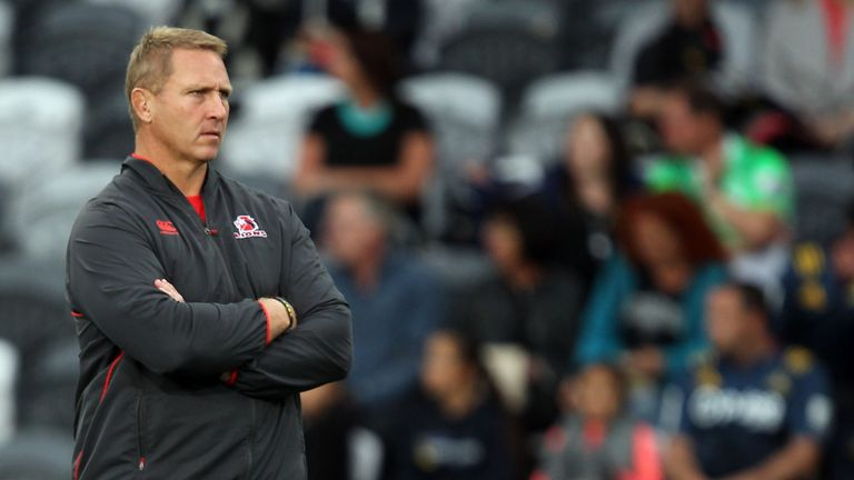 Ex-Lions head coach Johan Ackermann will take charge at Gloucester this season
