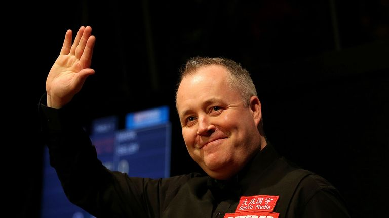 John Higgins scored only the 11th 147 break at the Crucible
