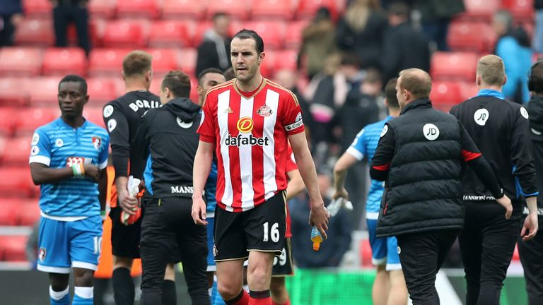 John O'Shea said last month he wants to stay at Sunderland