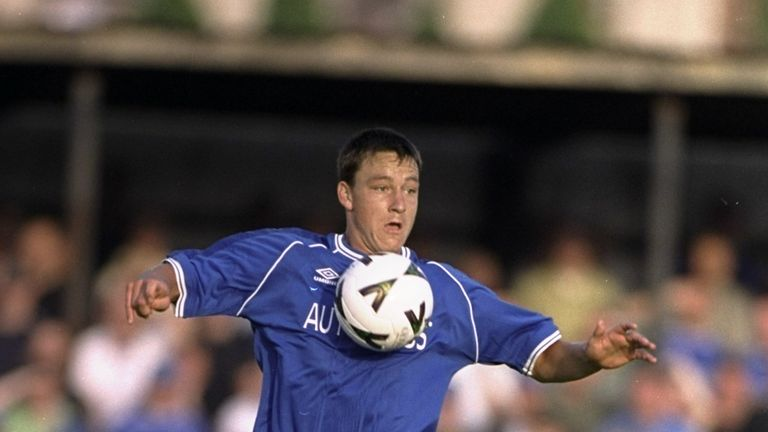 28 Jul 1999:  John Terry of Chelsea in action during a Pre-Season Friendly against Omagh played in Omagh, Northern Ireland.  \ Mandatory Credit: Michael Co