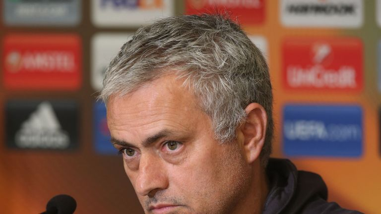 Jose Mourinho says the United squad have to trust the security team