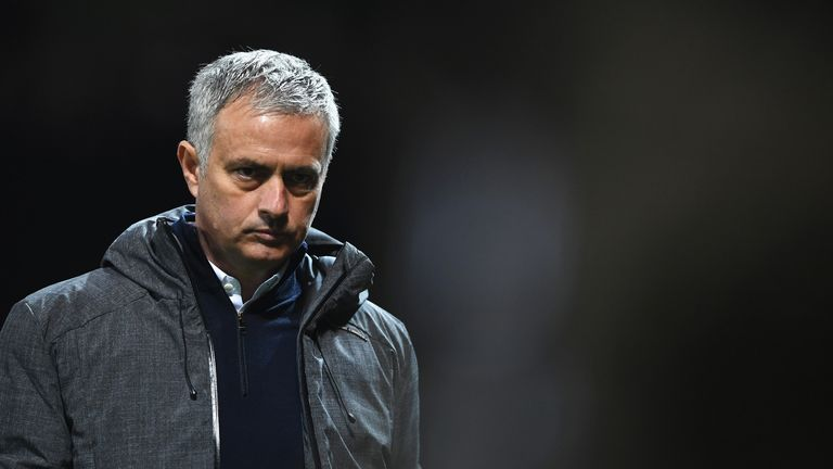 Jose Mourinho says Manchester United are 'in trouble' due to injuries