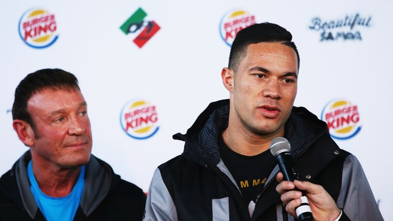 Joseph Parker will be watching Anthony Joshua's Wembley fight with Wladimir Klitschko on April 29, live on Sky Sports Box Office