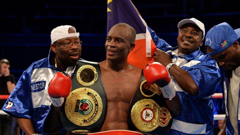 Julius Indongo says that representing Africa is giving him extra motivation