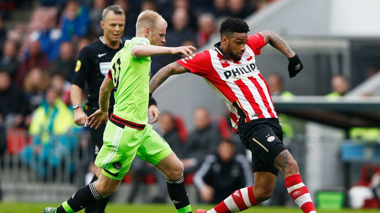 Jurgen Locadia has nurtured his skills at PSV since 2011