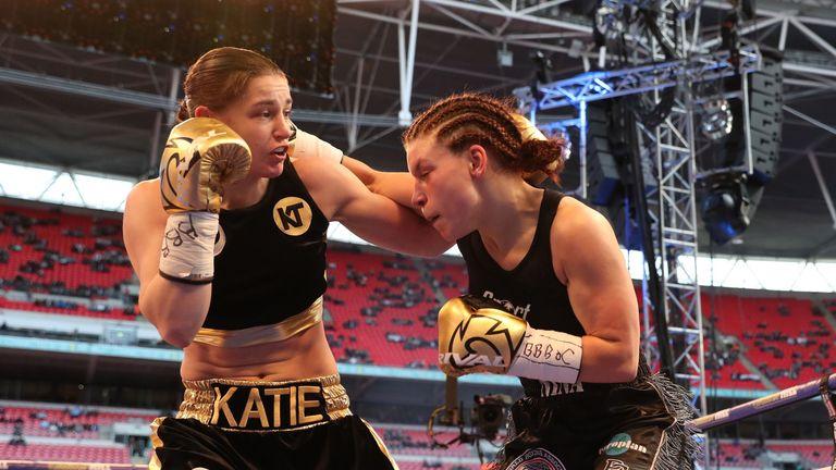 Katie Taylor wins at Wembley