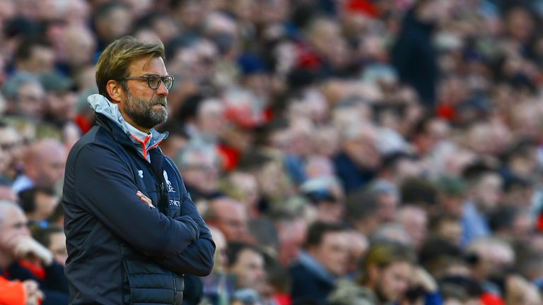Jurgen Klopp was frustrated with his side's defeat to Crystal Palace and believes Liverpool should have had a penalty