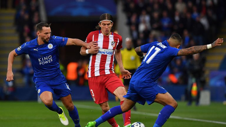 Danny Drinkwater was a star performer for Leicester on the night