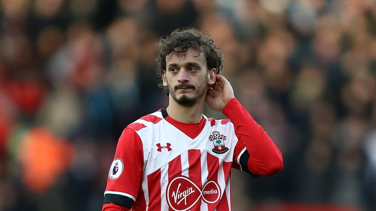 Manolo Gabbiadini has not played since March 19