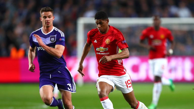 Dendoncker featured for Anderlecht against Manchester United in the Europa League quarter-finals last season