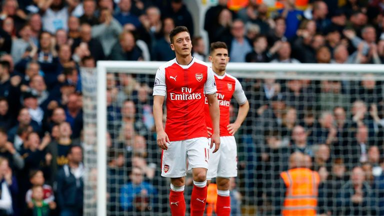 Arsenal are set to miss out on a Champions League qualifying spot