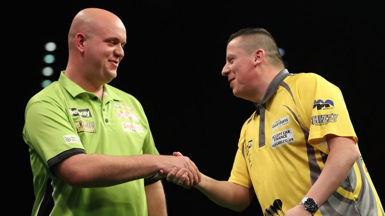 Chisnall has succumbed to Van Gerwen in his two most recent major televised finals