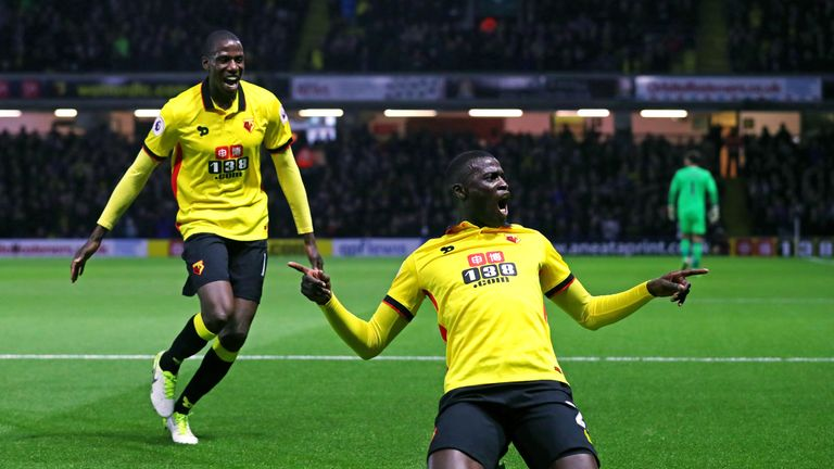 M'Baye Niang celebrates his goal against West Brom