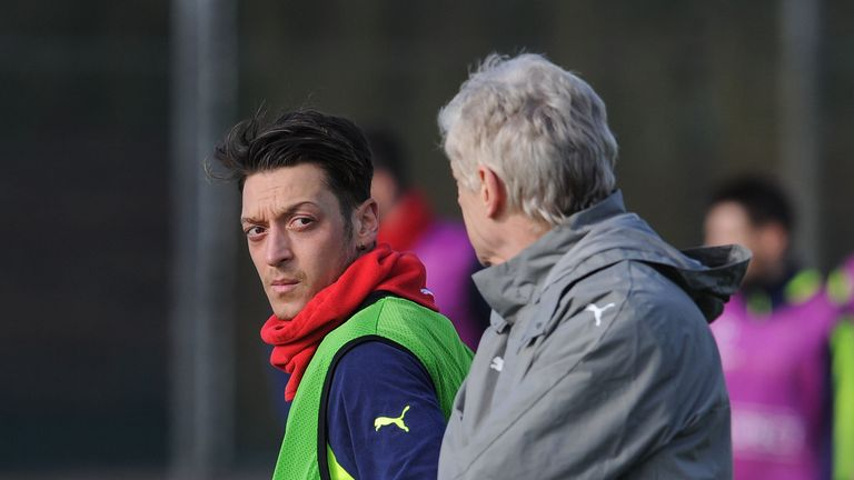Mesut Ozil and Arsene Wenger's future at Arsenal remains unclear
