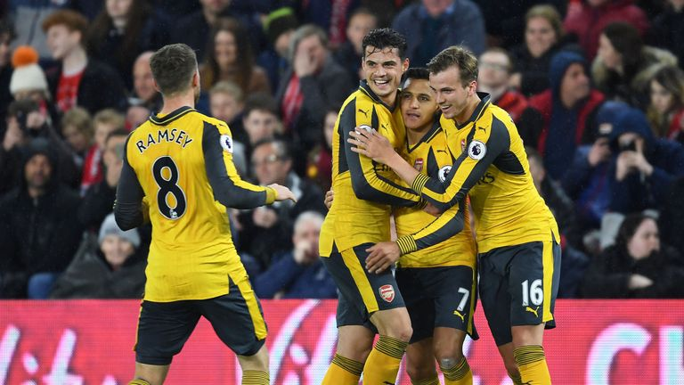 Arsenal face Tottenham in the north London derby on Super Sunday
