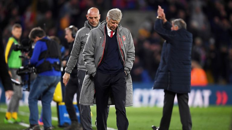 Wenger has been under intense pressure this season after a poor campaign