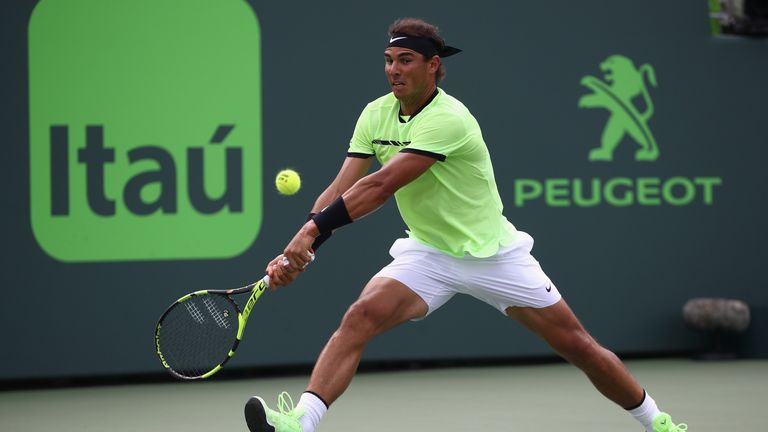 Rafa Nadal suffered a third final defeat of the year and a fourth successive defeat against his great rival