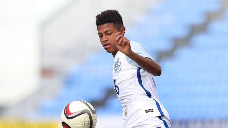 Jurgen Klopp says Liverpool youngster Rhian Brewster may have to wait for his debut