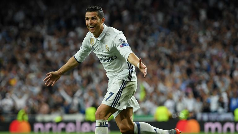 Cristiano Ronaldo became the first player to score 100 Champions League goals