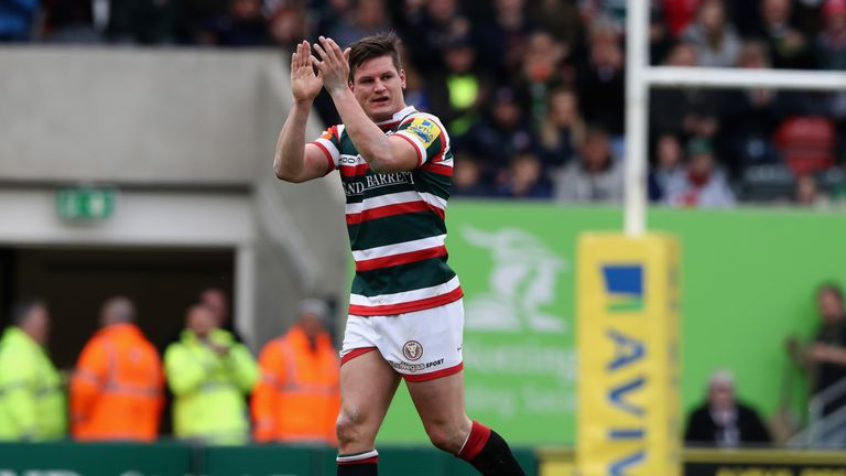 Freddie Burns signed off in style with an excellent performance at the Ricoh Arena