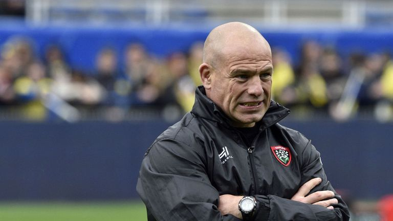 Richard Cockerill took over from Mike Ford at Toulon this week