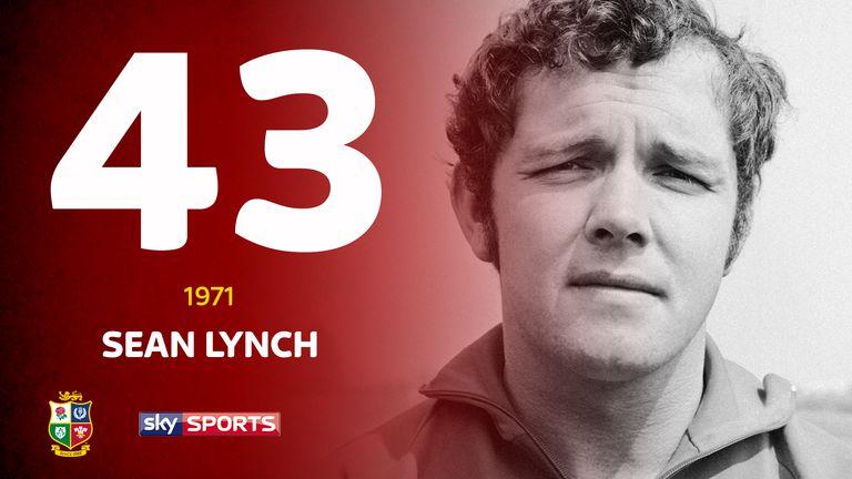 Miles Harrison's top 50 Lions: No 43 - Sean Lynch