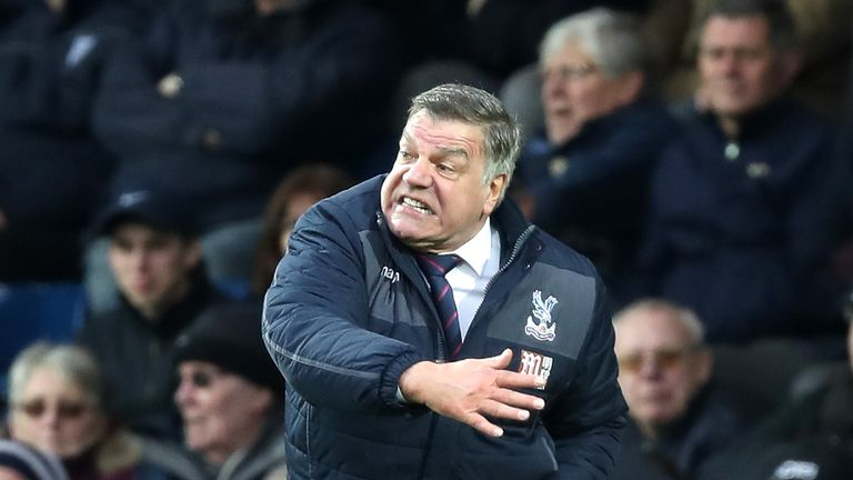 Allardyce guided Palace to a 14th-place finish in the Premier League