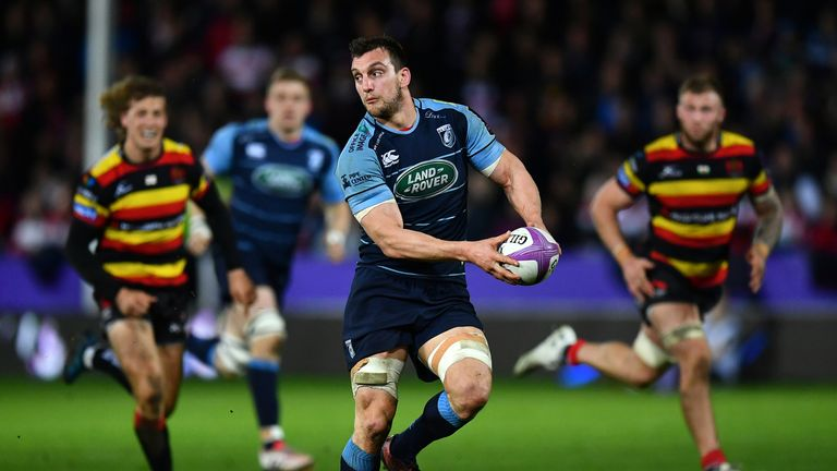 Cardiff are also without Sam Warburton who is out for six months after undergoing knee surgery