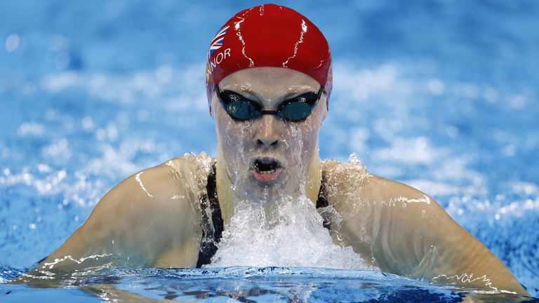 Siobhan-Marie O'Connor going for gold on Saturday night