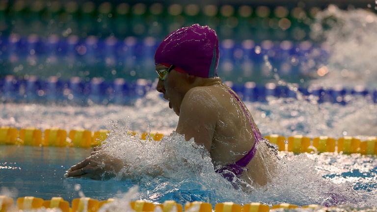 Siobhan-Marie O'Connor was pipped to gold in the 100m breaststroke on Sunday